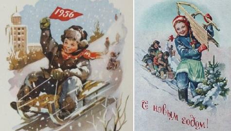 знаменитые советские санки с металлическими полозьями, деревянными перекладинами и съемными спинками