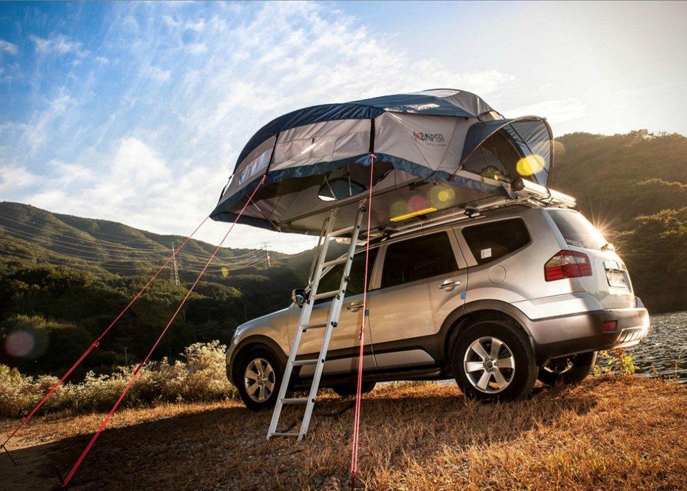 Продажа палаток для крыш автомобилей