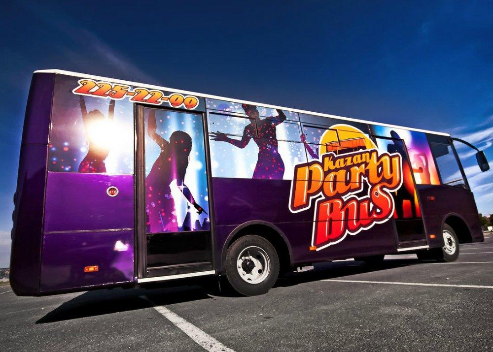 """Автобус для вечеринок (""""пати-бас"""")"""