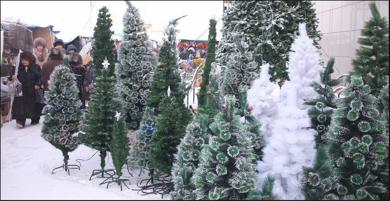 Бизнес-идея продажи новогодних ёлок