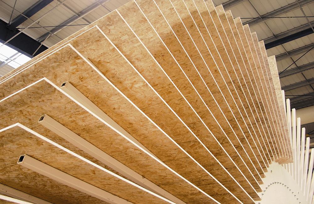 Древесные плиты для изготовления мебель