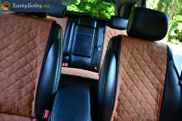 Чехлы в машине