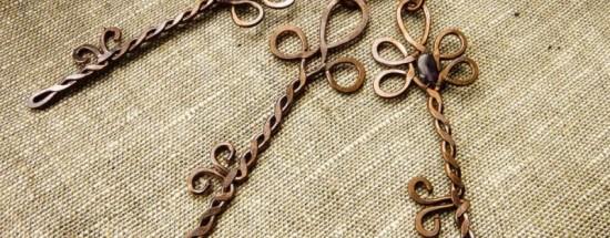 'Украшения из проволоки – мастер-класс для начинающих по плетению кулонов (95 фото)